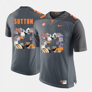 Men VOL #23 Cameron Sutton Grey Pictorial Fashion Jersey 703549-453