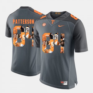 Men's University Of Tennessee #84 Cordarrelle Patterson Grey Pictorial Fashion Jersey 277838-959