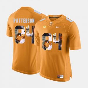 Men TN VOLS #84 Cordarrelle Patterson Orange Pictorial Fashion Jersey 473724-165