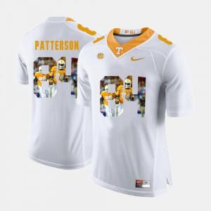 Men's UT VOL #84 Cordarrelle Patterson White Pictorial Fashion Jersey 755642-857