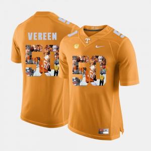 For Men's UT Volunteer #50 Corey Vereen Orange Pictorial Fashion Jersey 338358-627