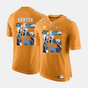 Mens University Of Tennessee #15 Justin Hunter Orange Pictorial Fashion Jersey 191080-114