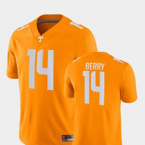 Men's UT #14 Eric Berry Orange Game College Football Jersey 812540-577