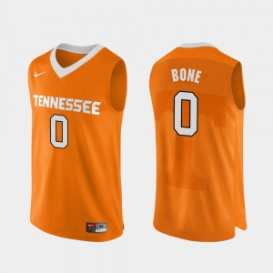 Men UT Volunteer #0 Jordan Bone Orange Authentic Performace College Basketball Jersey 839013-572