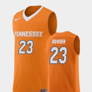 Men's UT VOL #23 Jordan Bowden Orange Replica College Basketball Jersey 579940-822