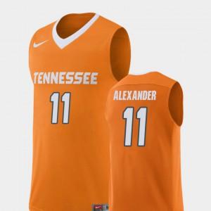 For Men Vols #11 Kyle Alexander Orange Replica College Basketball Jersey 272453-869