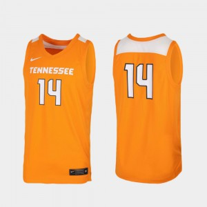 For Men VOL #14 Tennessee Orange Replica College Basketball Jersey 640952-603