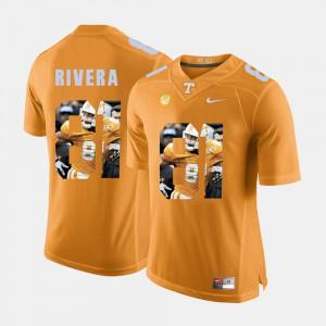 Men TN VOLS #81 Mychal Rivera Orange Pictorial Fashion Jersey 904666-693