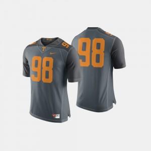 Men's VOL #98 Gray College Football Jersey 227888-359