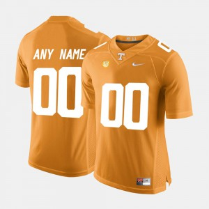 For Men's Tennessee #00 Orange College Limited Football Custom Jersey 404138-718