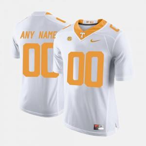 For Men UT VOLS #00 White College Limited Football Custom Jerseys 293867-244