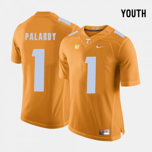 Kids UT VOL #1 Michael Palardy Orange College Football Jersey 695518-721