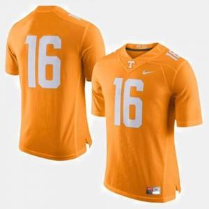 For Men's UT #16 Peyton Manning Orange College Football Jersey 892462-311